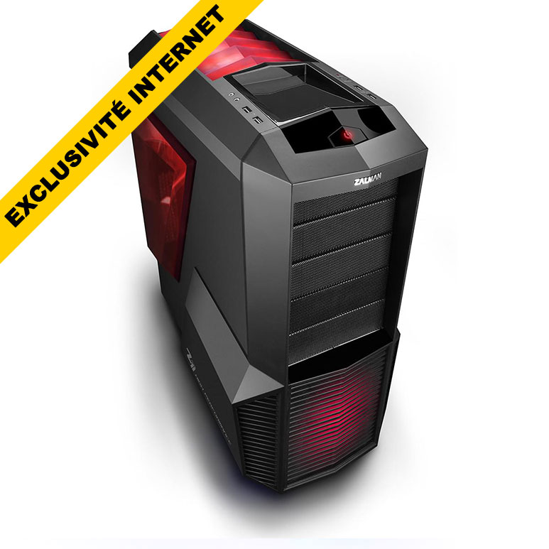 pc gamer cybertek fire hawk disque dur ssd 240 go msi. Black Bedroom Furniture Sets. Home Design Ideas