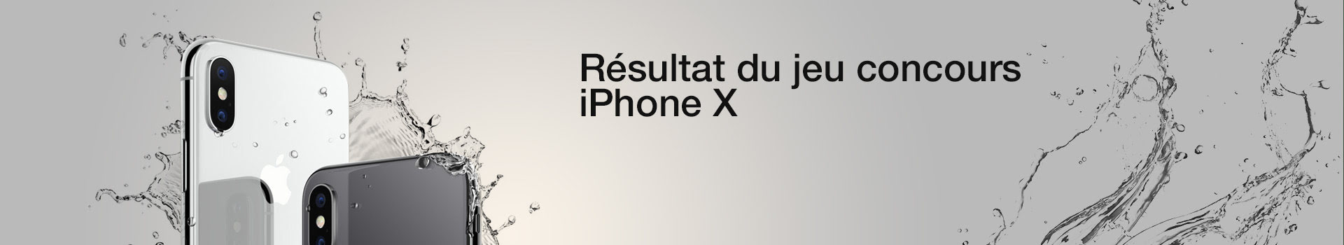 Jeux Concours Gagner Apple iPhone X 64Go