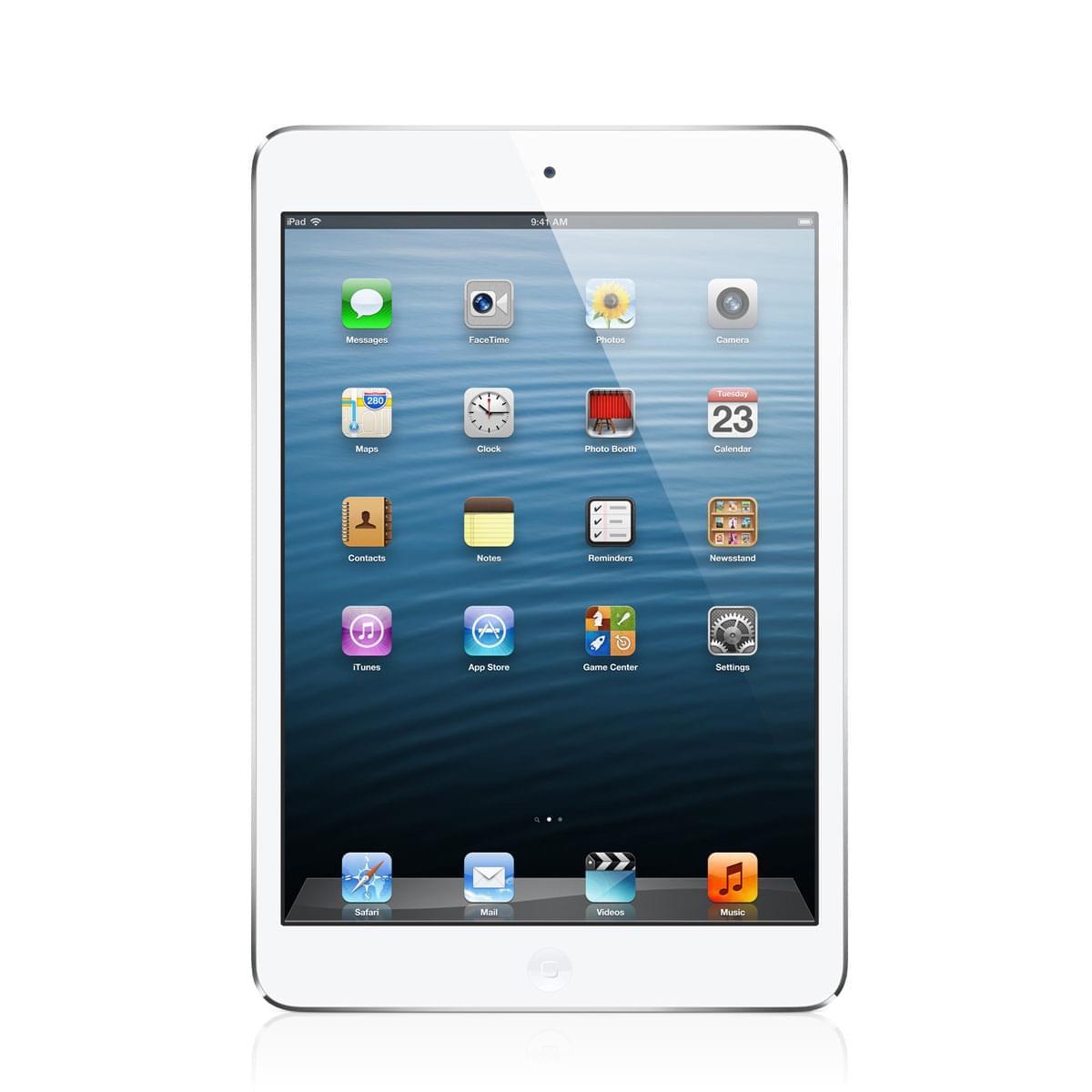 Apple iPad Mini 16Go WiFi Argent (Blanc) - Tablette tactile Apple - 0