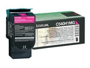 Toner Magenta 2000p - C540H1MG pour imprimante Laser Lexmark - 0