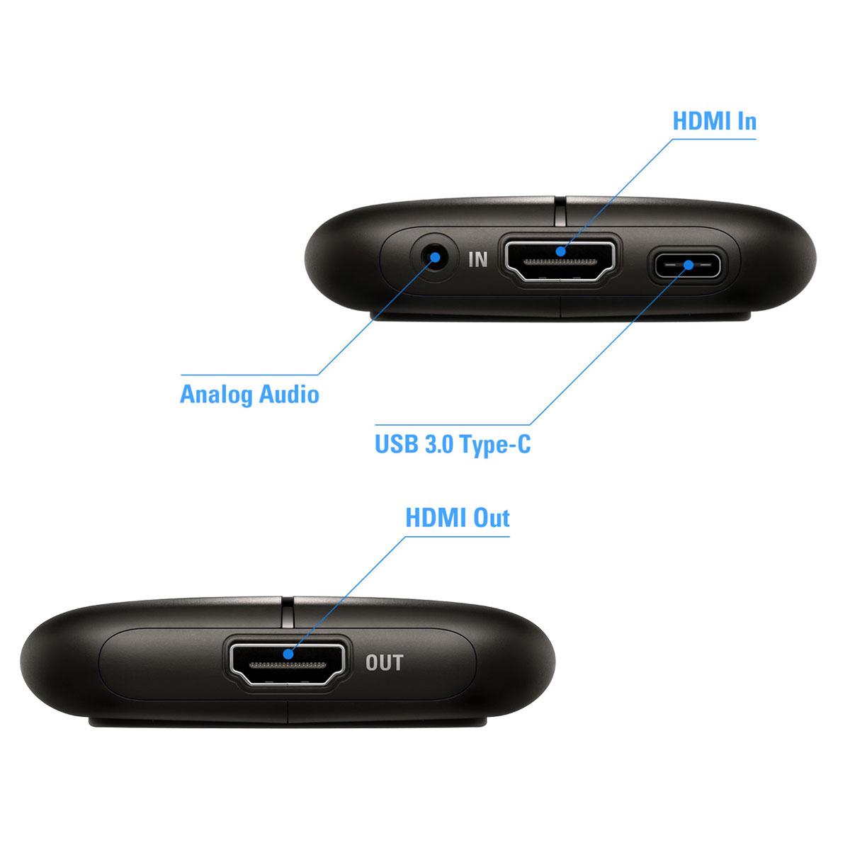 Elgato Game Capture HD60 S - 1GC109901004 - Carte d'acquisition vidéo - 2