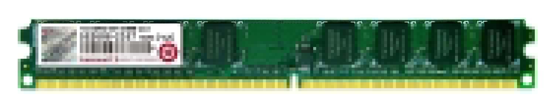 Barrette de ram PC Transcend 1Go  DDR2/DDR2 - 0