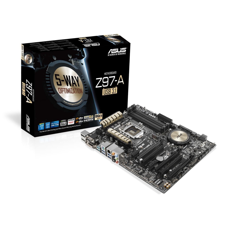 Asus Z97-A/USB3.1 (90MB0L60-M0EAY0 soldé) - Achat / Vente Carte Mère sur Cybertek.fr - 0