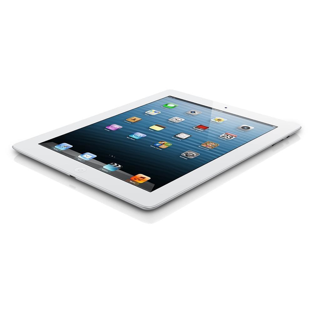 Apple iPad Retina 32Go WiFi Blanc (MD514FD/A soldé) - Achat / Vente Tablette tactile sur Cybertek.fr - 0