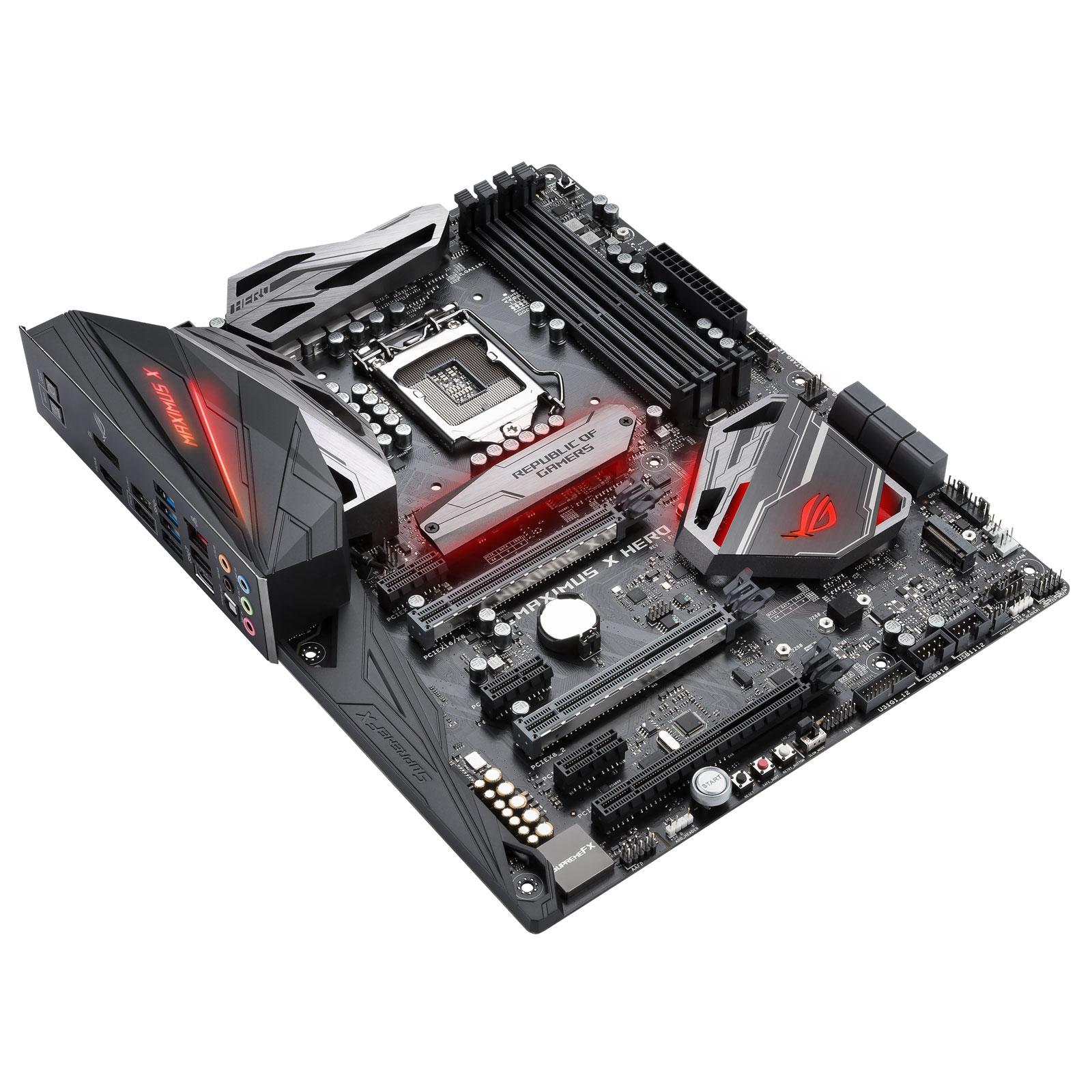 Asus MAXIMUS HERO X ATX DDR4 - Carte mère Asus - Cybertek.fr - 0