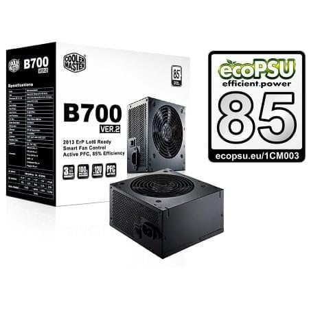 Alimentation PC Cooler Master ATX 700 Watts B700 V2 RS700-ACABB1-EU - 0