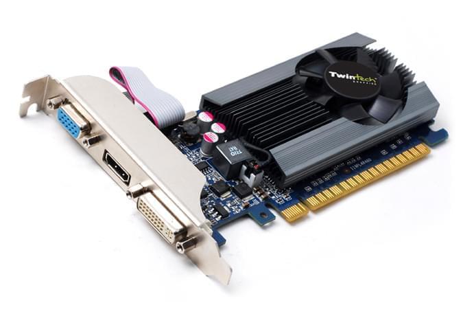 NVidia GF GT 520 1Go - Carte graphique NVidia - Cybertek.fr - 0