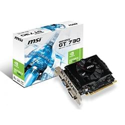 MSI Carte Graphique N730-2GD3 V2 - GT730/2Go/PCI-E Cybertek