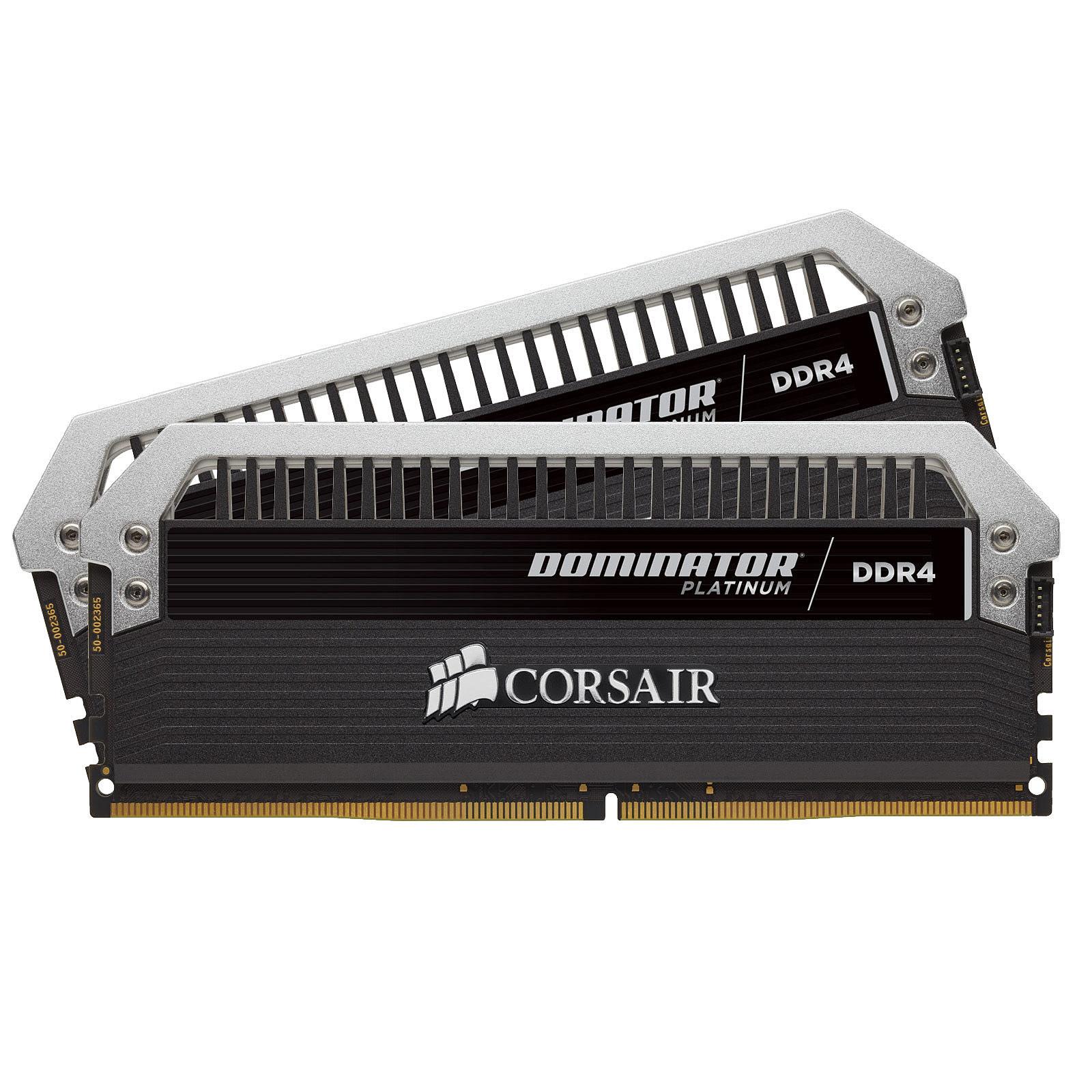 Corsair Dominator Platinium 32Go (2x16Go) DDR4 3000 MHz C15 (CMD32GX4M2B3000C15) - Achat / Vente Mémoire PC sur Cybertek.fr - 0