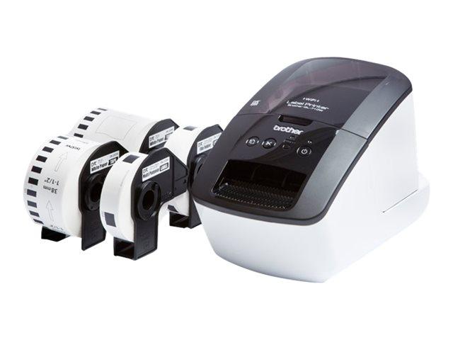 Brother Thermique QL-710W + 4 conso DK (QL710WSPZW1) - Achat / Vente Imprimante sur Cybertek.fr - 0