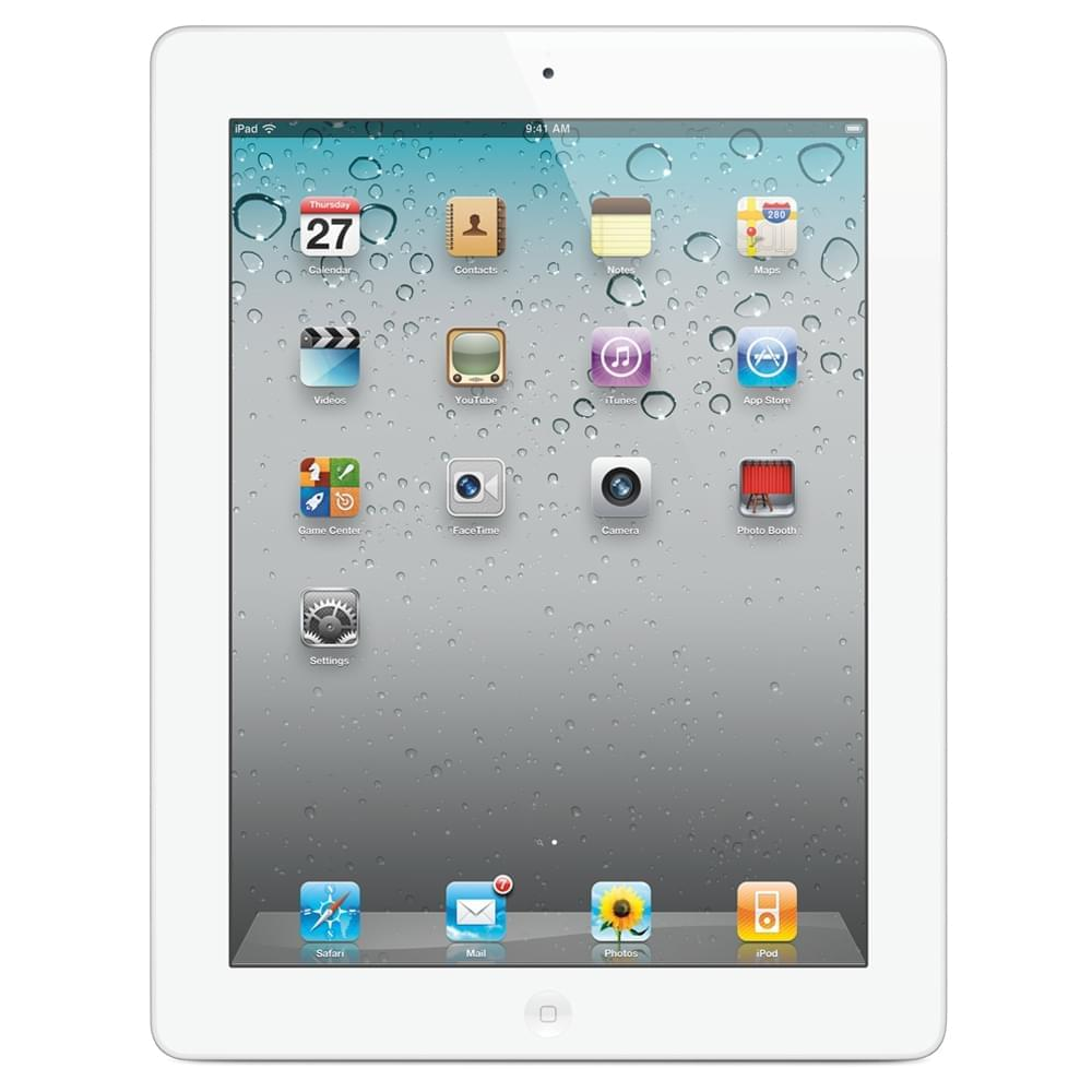 Apple Ipad 2 16Go Blanc - Achat / Vente Tablette Tactile sur Cybertek.fr - 0