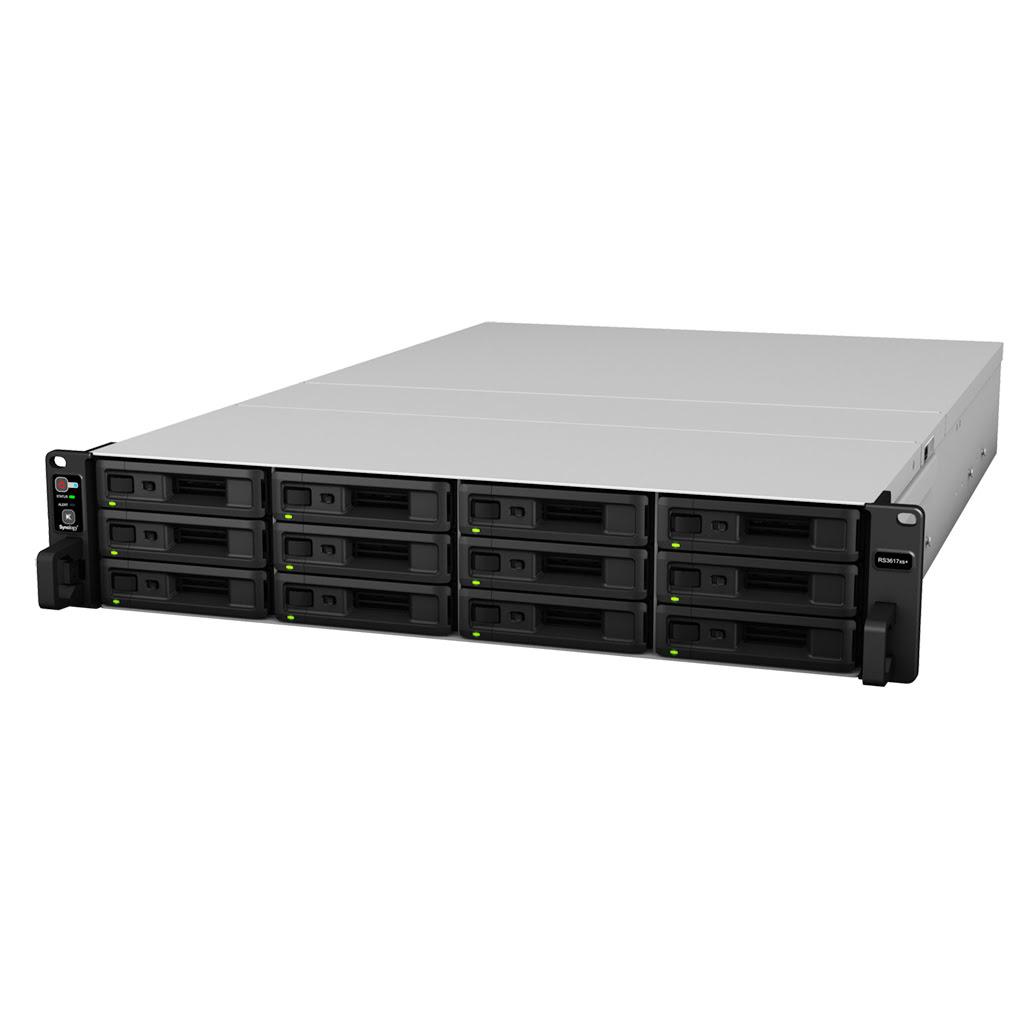 Synology RS3617XS+ - 12 HDD - Serveur NAS Synology - Cybertek.fr - 2