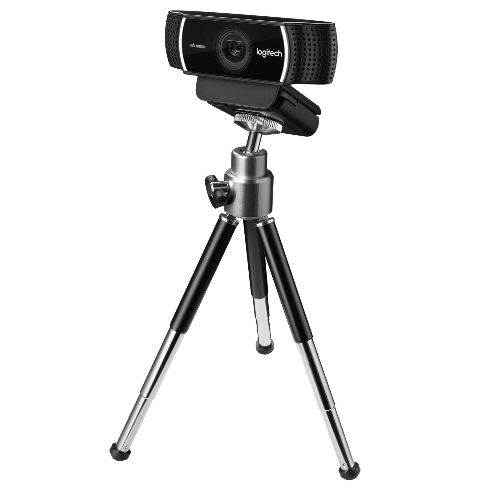 Logitech C922 Pro Stream - Caméra / Webcam - Cybertek.fr - 1