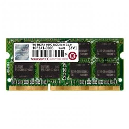 Transcend SO-DIMM 4Go DDR3 1600 CL11 TS512MSK64V6H - Mémoire PC portable - 0