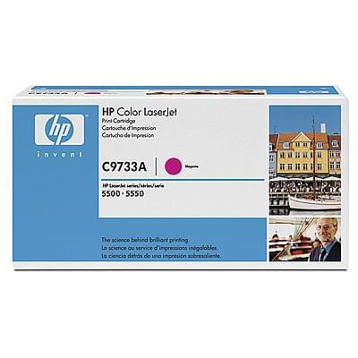 Consommable imprimante HP Toner C9733A Magenta 12000p