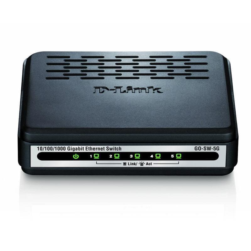 Switch D-Link 5 Ports 10/100/1000Mbps Dlinkgo GO-SW-5G - 0