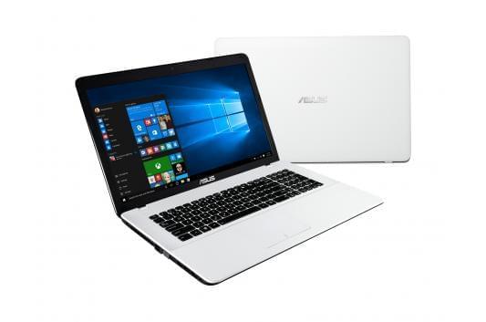 Asus X751MJ-TY033T Blanc (90NB0822-M00860) - Achat / Vente PC Portable sur Cybertek.fr - 0