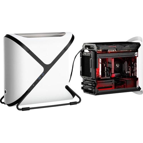 BitFenix Portal Blanc fenêtré- mT/sans alim/Mini-ITX  - Boîtier PC - 1