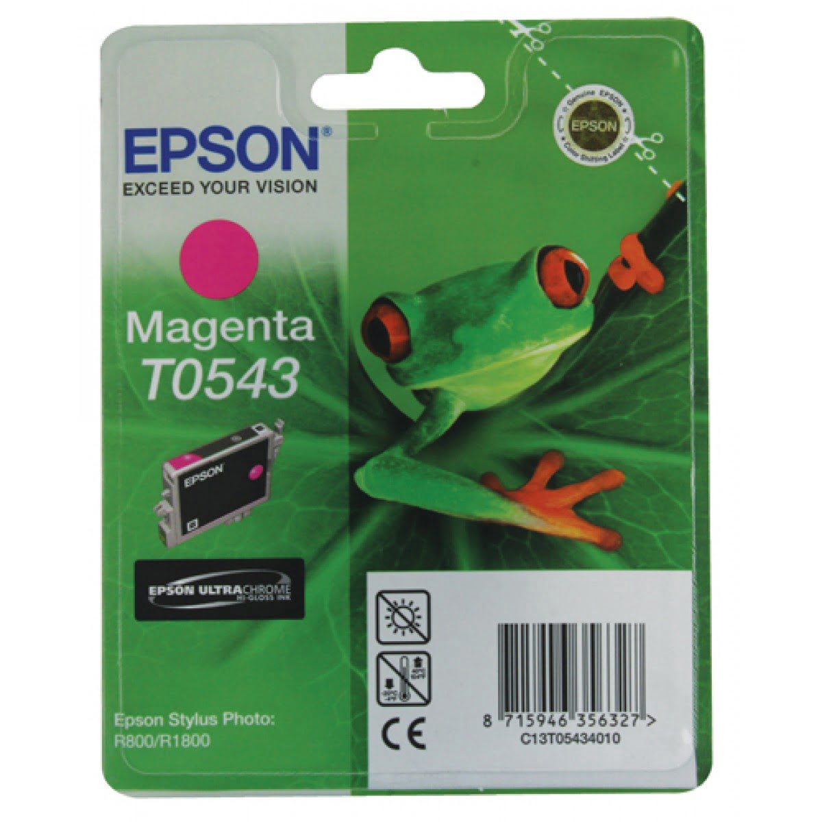Consommable imprimante Epson Cartouche T0543 Stylus R800 Magenta