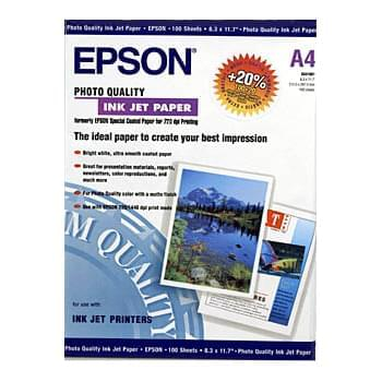 Papier C13S041061 couche A4 100f. 100g. - Epson - Cybertek.fr - 0