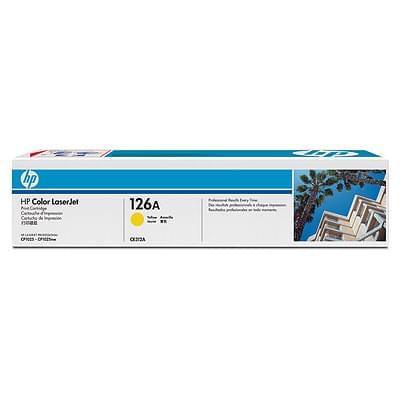 Toner 126A Yellow CE312A pour imprimante  HP - 0