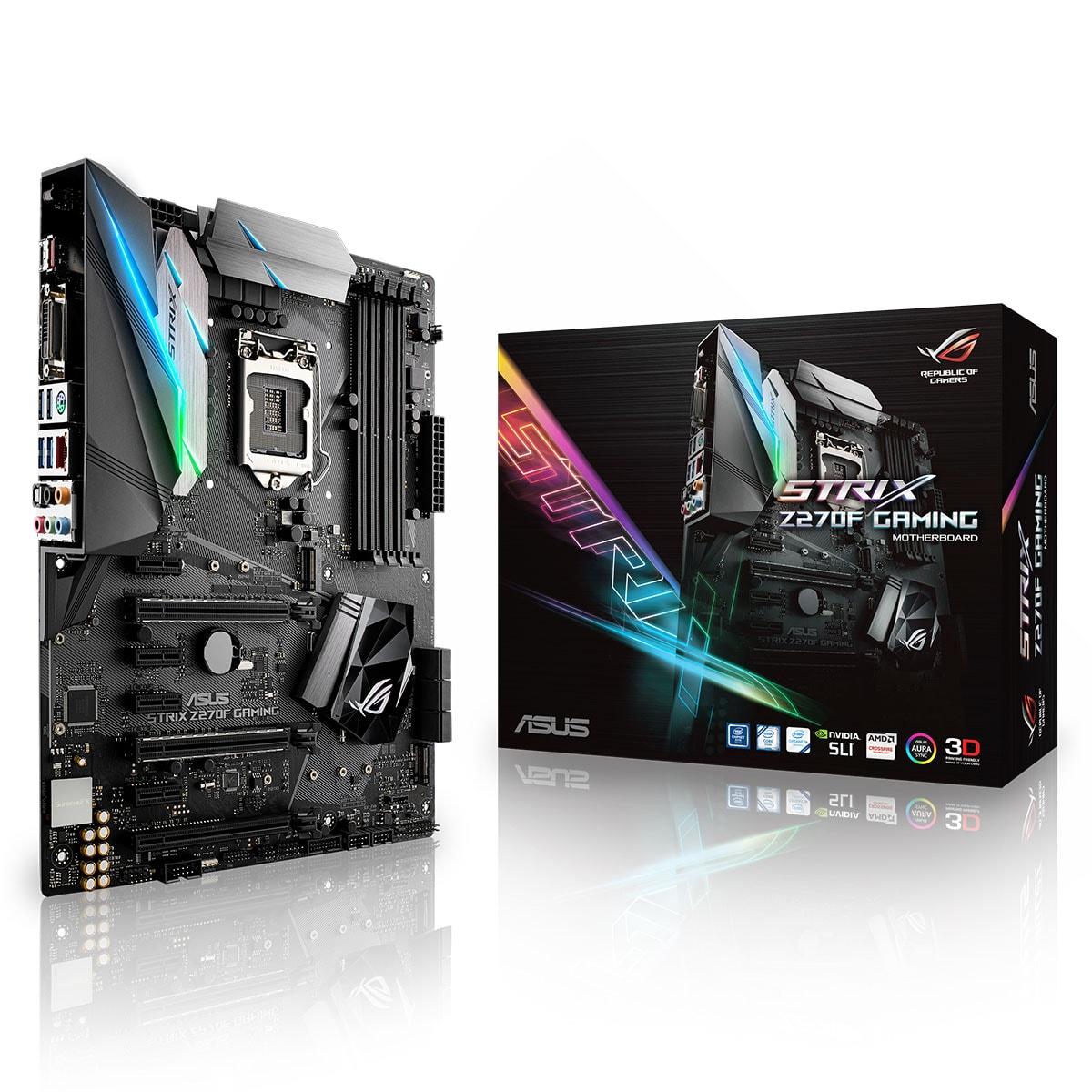 Asus STRIX Z270F Gaming ATX DDR4 - Carte mère Asus - Cybertek.fr - 0