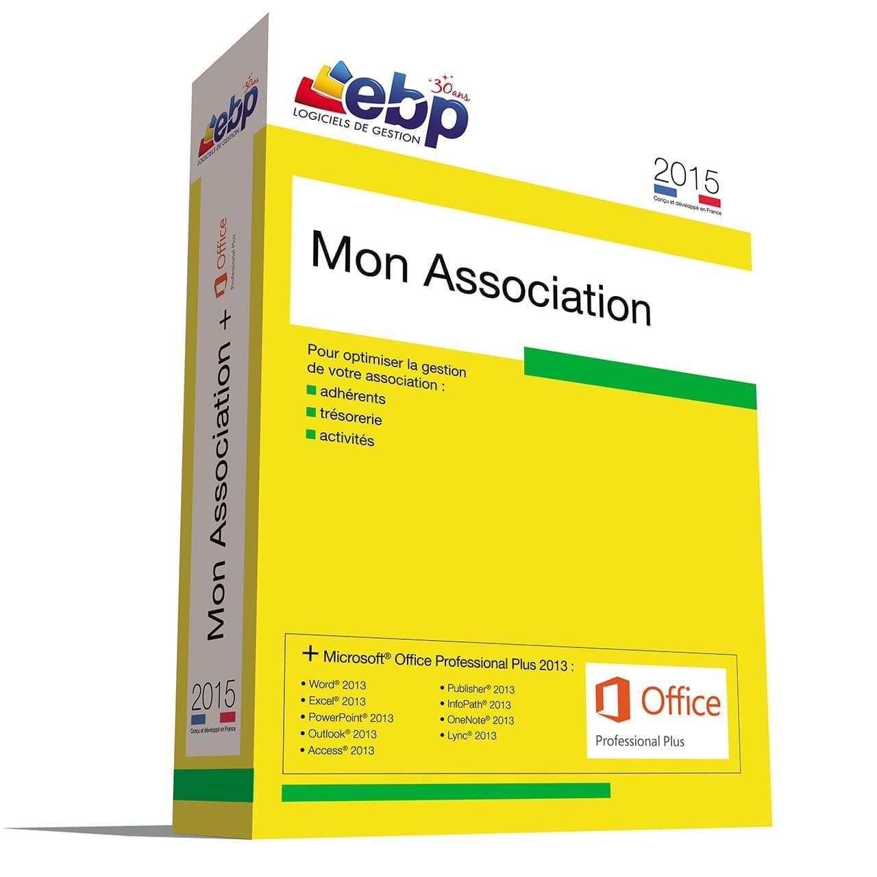 EBP Mon Association 2015 - Offre Spéciale MS 2013 - Logiciel application - 0