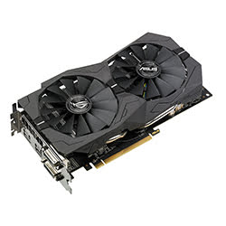 Carte graphique Asus STRIX-RX570-O4G GAMING - RX570/4G/DVI/DP/HDMI