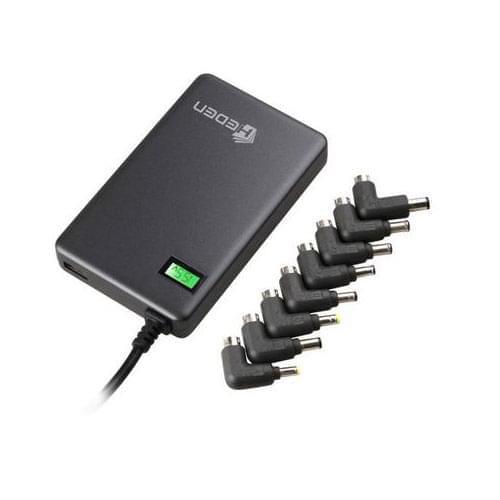 Heden Mini-chargeur universel 90W 8 embouts (PSMIP504NB) - Achat / Vente Accessoire PC portable sur Cybertek.fr - 0