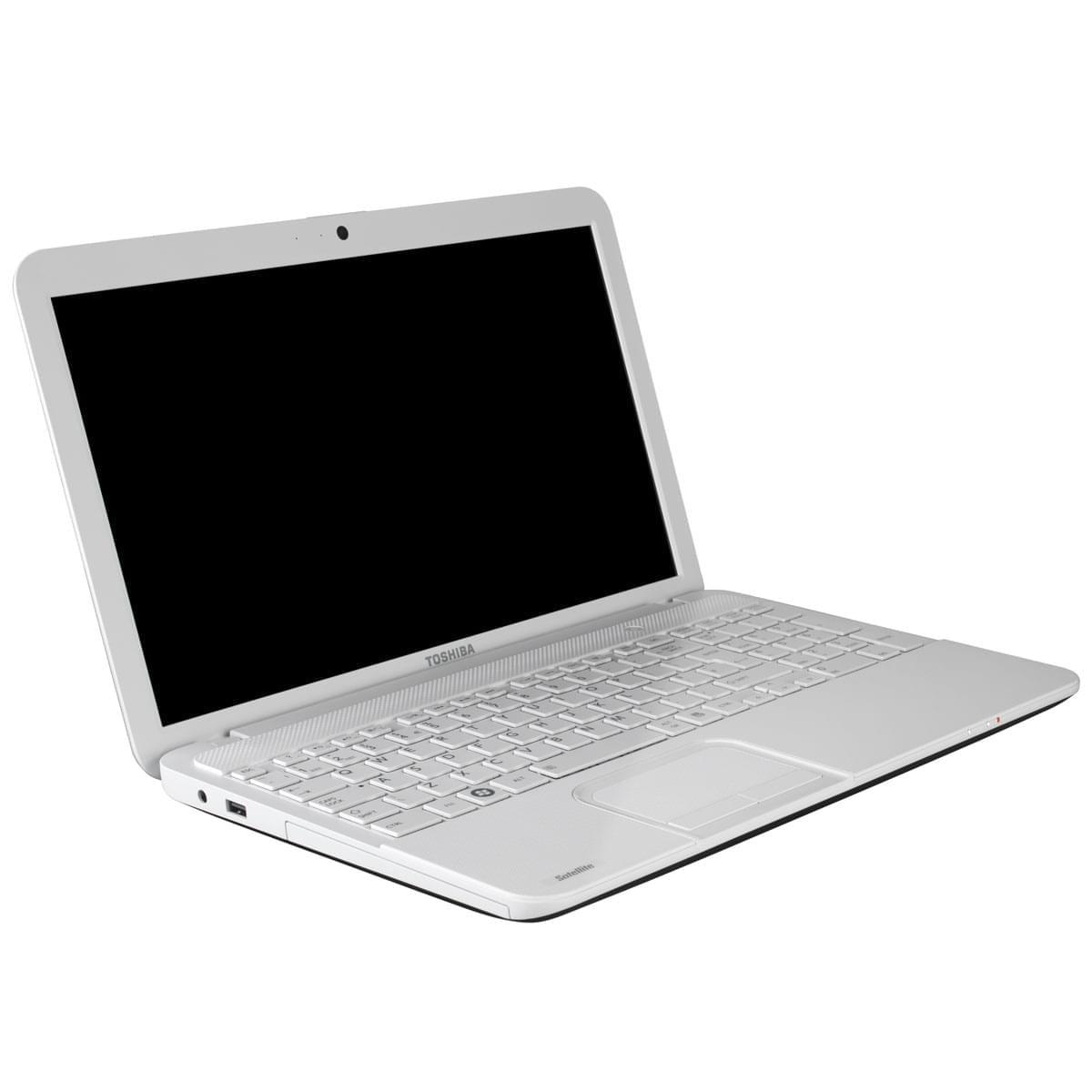 Toshiba C855-1J8 (PSKCCE-04M004FR) - Achat / Vente PC Portable sur Cybertek.fr - 0
