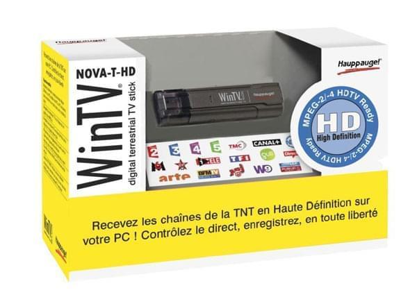 Hauppauge WinTV Nova T Stick HD (TNT HD) (360 (FDV)) - Achat / Vente Tuner TNT sur Cybertek.fr - 0