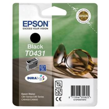 Cartouche d'encre T0431 Noir HC 350p pour imprimante Jet d'encre Epson - 0