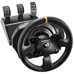 image produit ThrustMaster TX Racing Wheel Leather Edition Cybertek