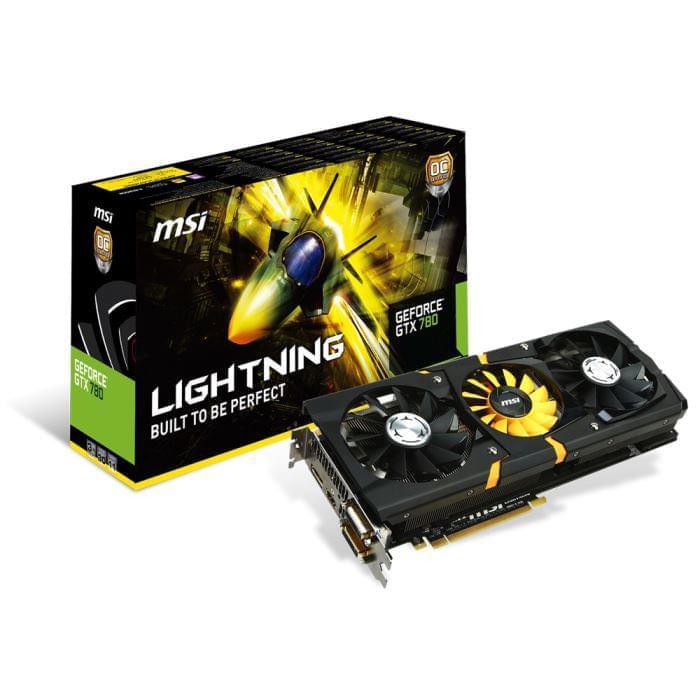 MSI N780 Lightning (N780LIGHTNING soldé) - Achat / Vente Carte Graphique sur Cybertek.fr - 0