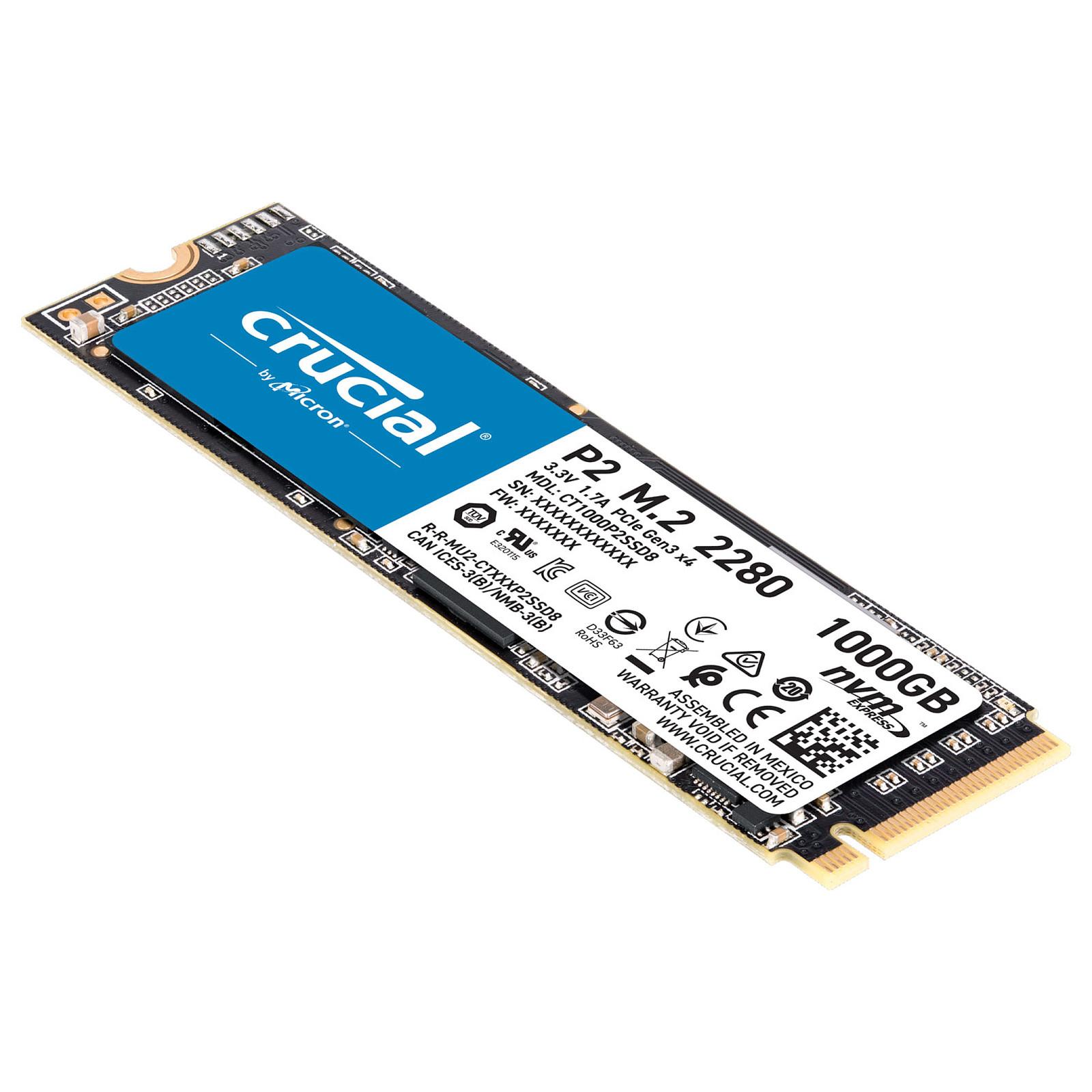 Crucial P2 960Go-1To M.2 - Disque SSD Crucial - Cybertek.fr - 2