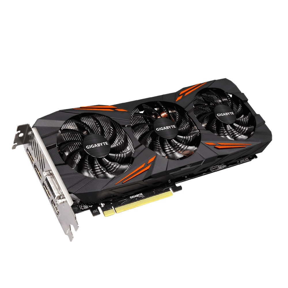 Gigabyte GeForce GTX1080 G1 Gaming-8GD (GV-N1080G1 GAMING-8GD ) - Achat / Vente Carte Graphique sur Cybertek.fr - 1