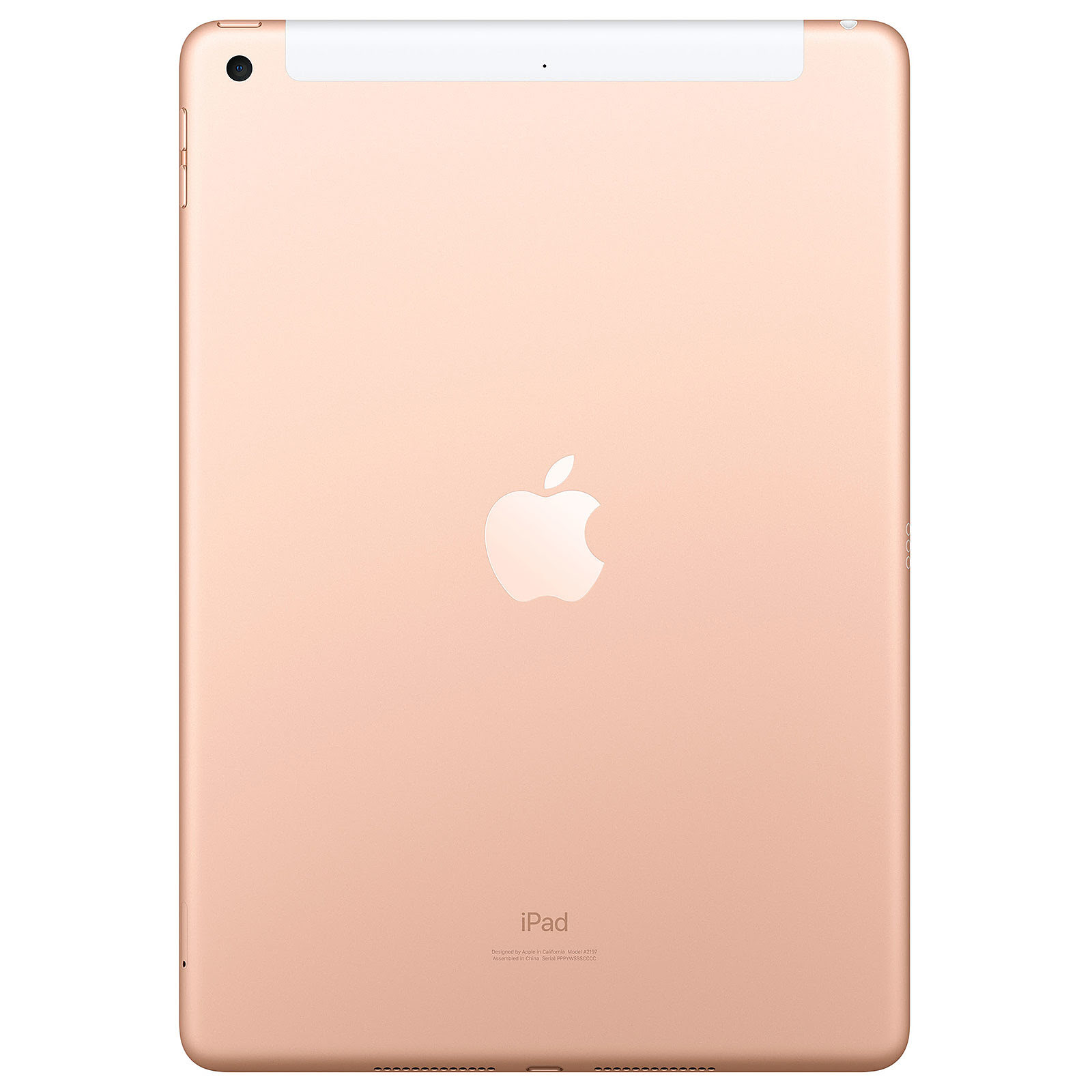 "Apple iPad 10.2"" WiFi+Cell. 32Go Or - Tablette tactile Apple - 1"