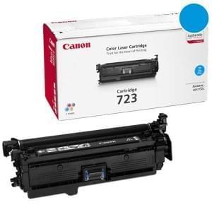 Toner CRG 723 Cyan 8500p - 2643B002 pour imprimante Laser Canon - 0