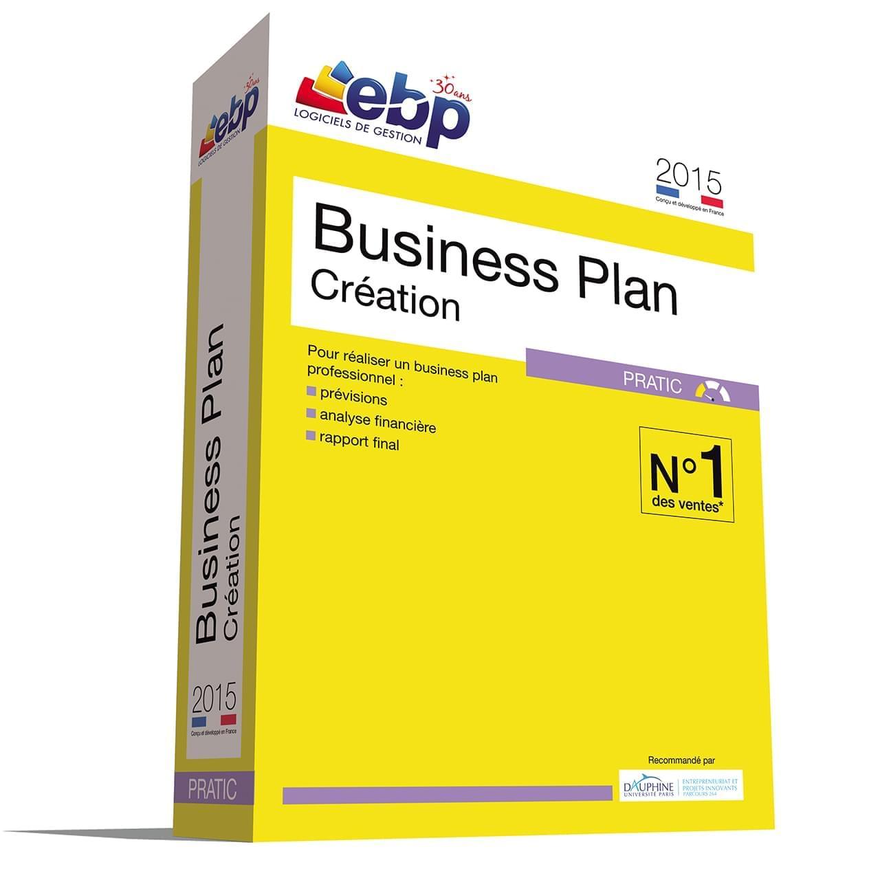 EBP Business Plan Pratic 2015 (1155E070FAC) - Achat / Vente Logiciel Application sur Cybertek.fr - 0