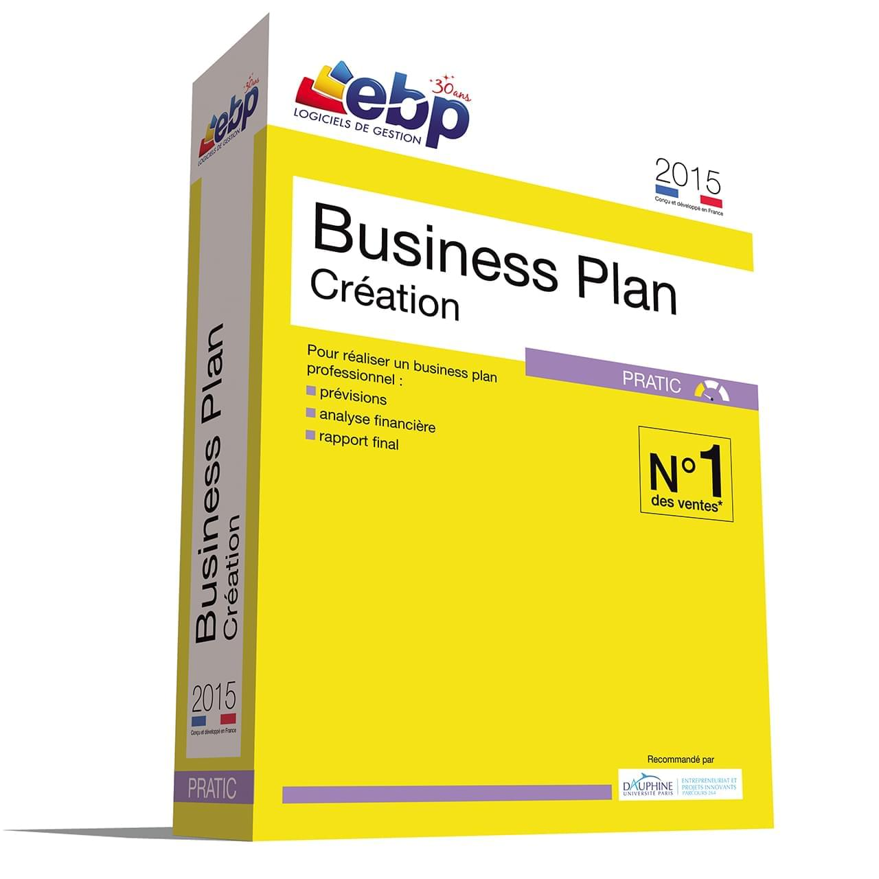 EBP Business Plan Pratic 2015 - Logiciel application - Cybertek.fr - 0