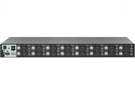 CS17916 KVM Rackable HDMI/USB/Jack - 16 UC - Commutateur Aten - 2