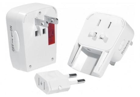 Adaptateur de format de prise électrique universel - Onduleur No Name - 0