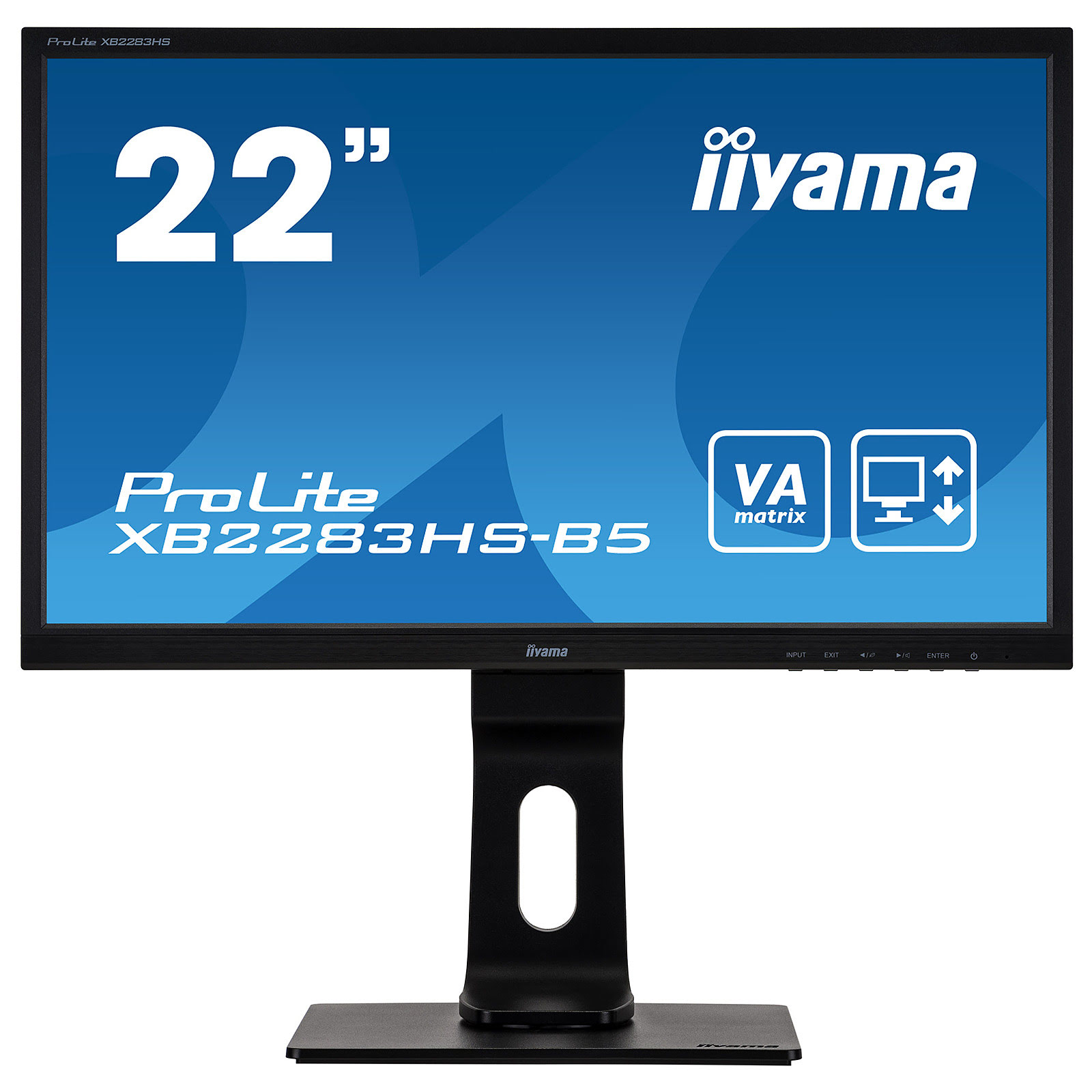 "Iiyama 22""  XB2283HS-B5 - Ecran PC Iiyama - Cybertek.fr - 0"