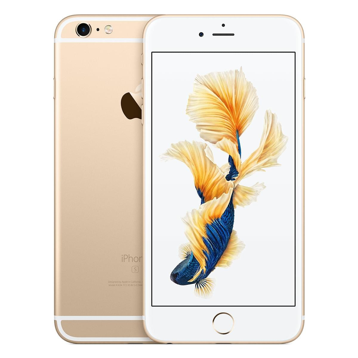 Apple iPhone 6s Plus 64Go Or - Téléphonie Apple - Cybertek.fr - 0