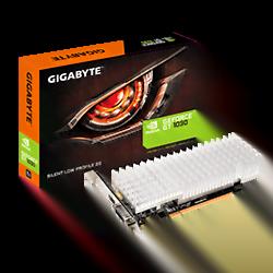 image produit Gigabyte N1030SL-2GL - GT1030/2Go/DVI/HDMI Cybertek