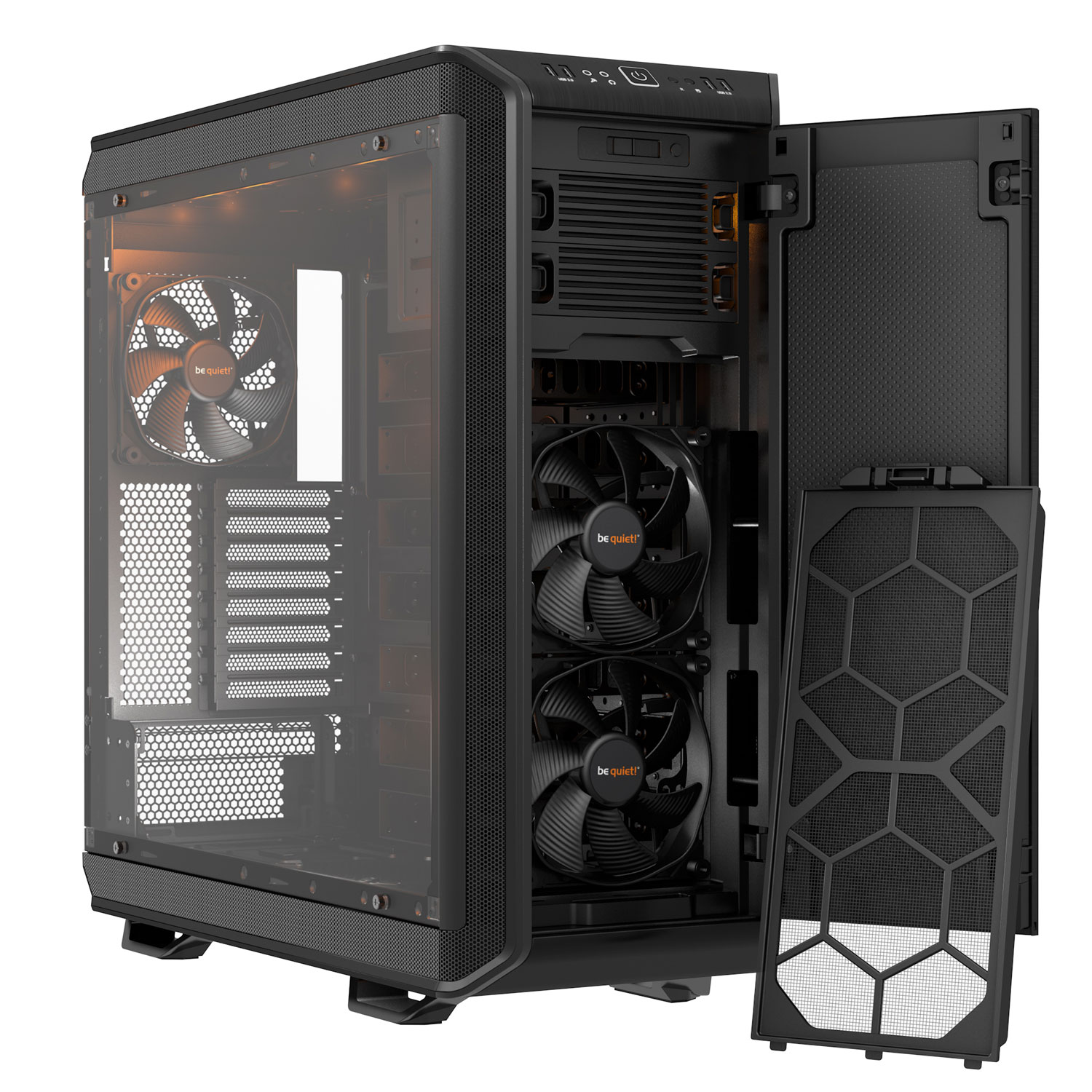 Be Quiet! Dark Base Pro 900 Black Noir - Boîtier PC Be Quiet! - 2