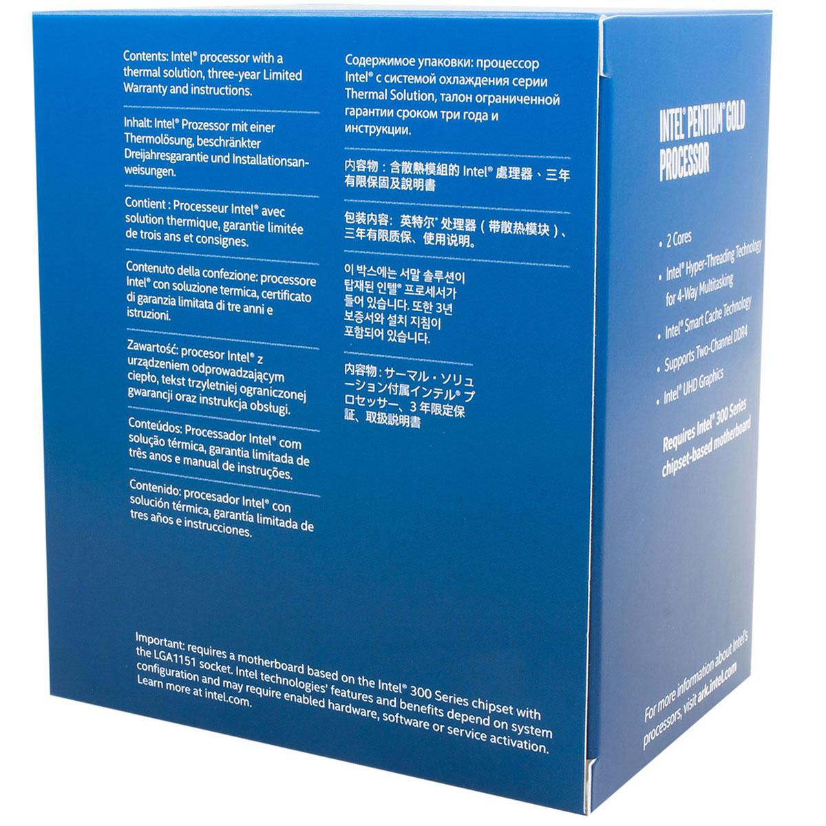 Intel Pentium G5500 - 3.8GHz - Processeur Intel - Cybertek.fr - 1