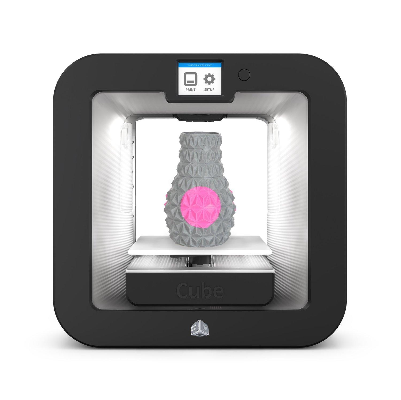 Imprimante 3D Systems CUBE 3 Grise (Imprimante 3D 15x15x15) - 0