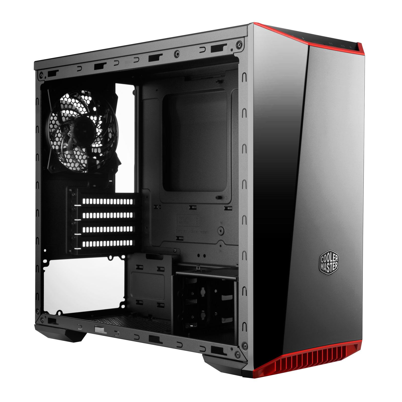 Cooler Master MasterBox Lite 3.1 TG MCW-L3S3-KGNN-00 -mT/Ss Alim Noir - Boîtier PC - 1
