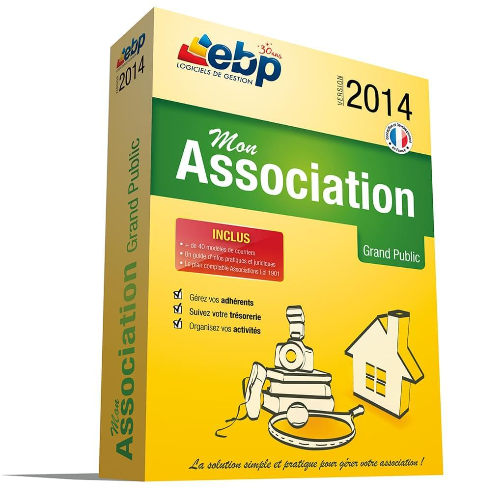 EBP Mon Association 2014 (1049J180FAA) - Achat / Vente Logiciel Application sur Cybertek.fr - 0